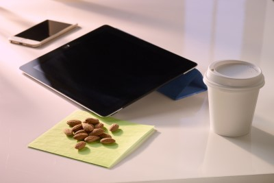 Working with Almonds