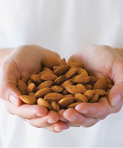 Handful of Almonds, The Perfect Portion of Almonds